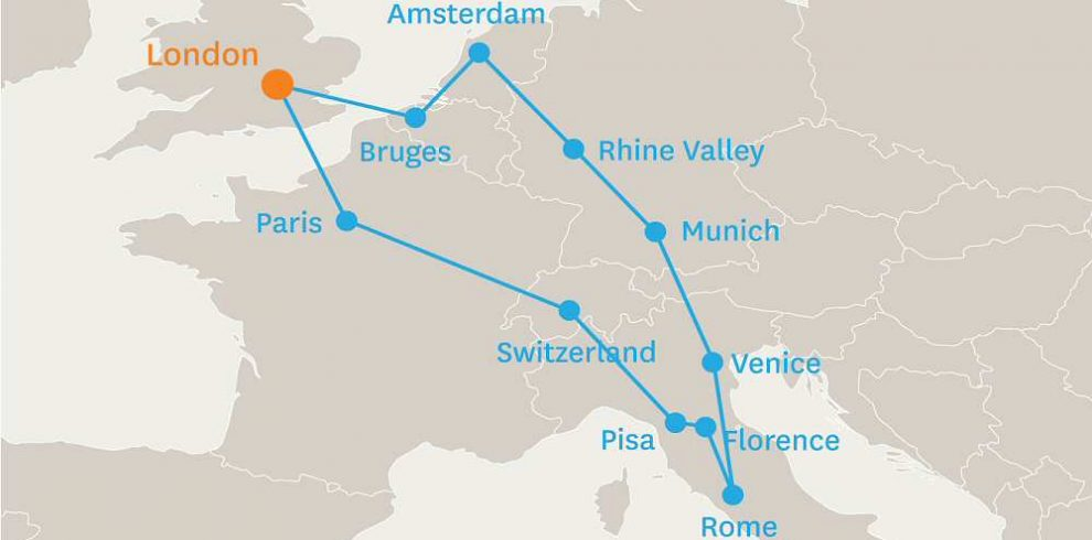 14 DAY GRAND TOUR OF EUROPE