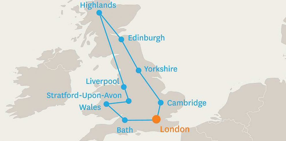 9 DAY TOUR OF GREAT BRITAIN
